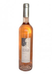 Domaine le Grand Rouviere Rose - my new fave!