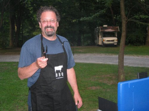 Everyone thinks their dad is the king of the grill. Scott Fox is actually the king of the grill.