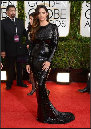 Camila Alves in Dolce & Gabbana