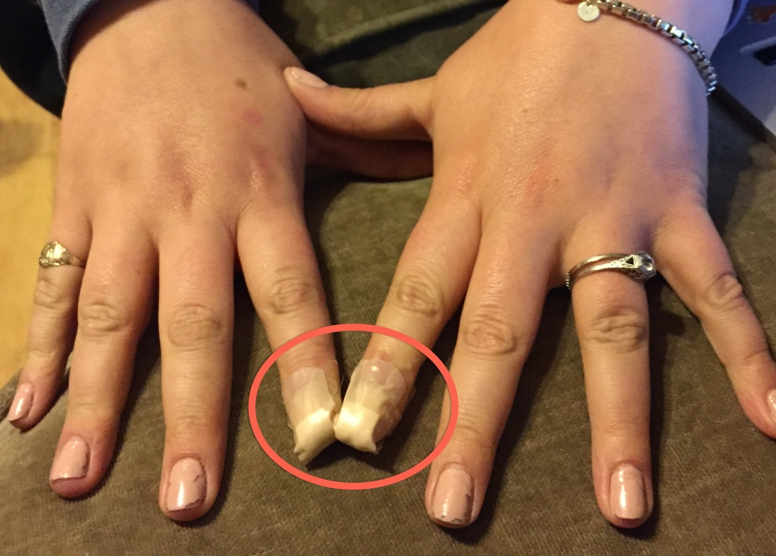 A cautionary tale about fake nails or why I think those darn ...