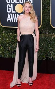 Mandatory Credit: Photo by David Fisher/REX/Shutterstock (10048065ek) Julia Roberts 76th Annual Golden Globe Awards, Arrivals, Los Angeles, USA - 06 Jan 2019
